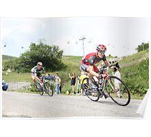 Levi Leipheimer & Jens Voigt Col de la Madeleine Poster