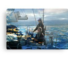 Happy Sailing my Friends! Canvas Print