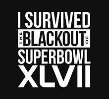 I Survived NFL Superbowl XLVII Blackout T-Shirts & More Unisex T-Shirt