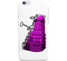 Purple Dalek iPhone Case/Skin