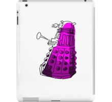 Purple Dalek iPad Case/Skin