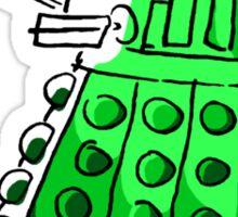 Green Dalek Sticker