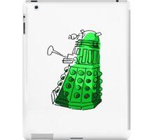Green Dalek iPad Case/Skin