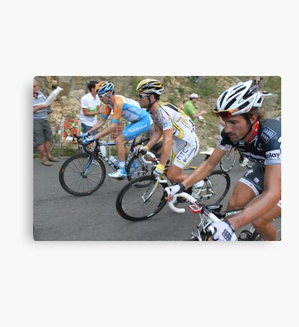 Tour de France Mende Canvas Print