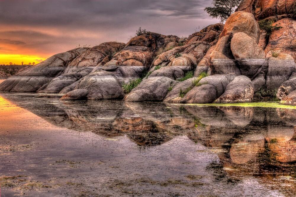 Mirror Rock by Bob Larson