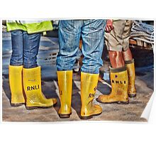 Yellow Boots Poster