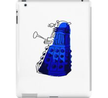 Blue Dalek iPad Case/Skin