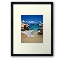 The Baths of Virgin Gorda Framed Print