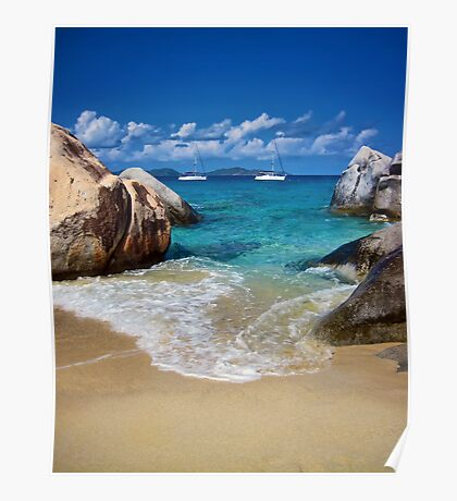 The Baths of Virgin Gorda Poster