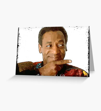 Get you a Drink? Bill Cosby Greeting Card