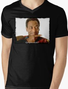 Get you a Drink? Bill Cosby Mens V-Neck T-Shirt