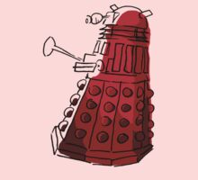 Red Dalek Kids Clothes