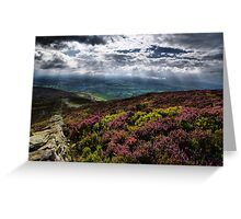 Moel Famau View Greeting Card