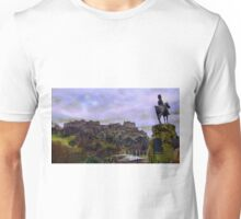 Edinburgh Castle Scotland Unisex T-Shirt