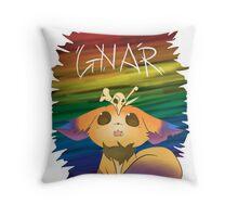 Gnar - League of Legends Throw Pillow