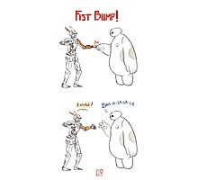 Fist Bump! Photographic Print