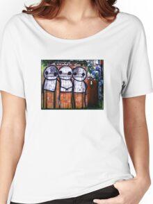 Street Art by Stik  Women's Relaxed Fit T-Shirt