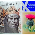 """Welcome to Scotland! featured in """"Freedom in Words & Art"""" & """"Inspirational Greeting Cards"""" by ©The Creative  Minds"""