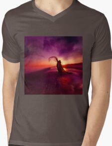 ROAD TO AWE Mens V-Neck T-Shirt