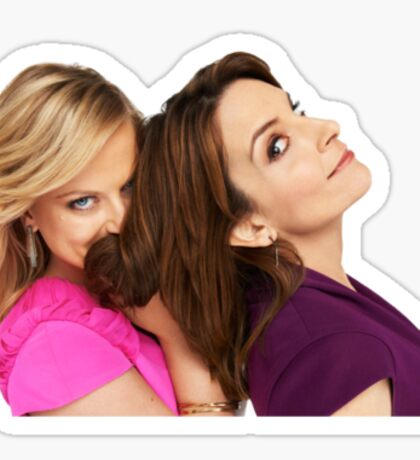 Tina and Amy Sticker