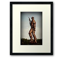 Special Forces Monument Framed Print