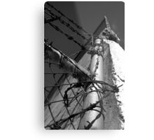 Beautiful Keswick- Barbed Wire Metal Print