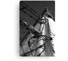 Beautiful Keswick- Barbed Wire Canvas Print