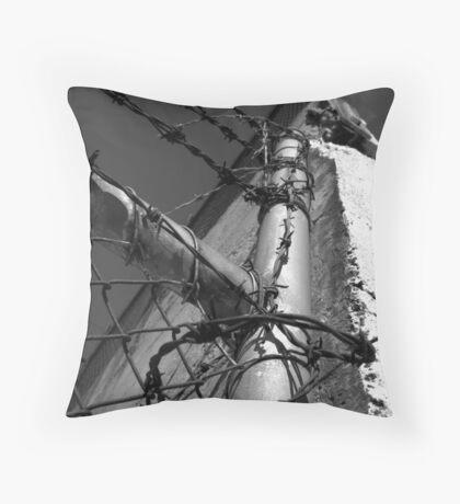 Beautiful Keswick- Barbed Wire Throw Pillow