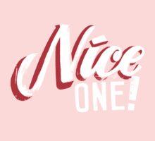 """""""Nice One!"""" by Tai's Tees One Piece - Long Sleeve"""