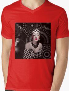BUBA Mens V-Neck T-Shirt