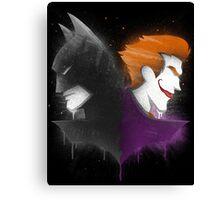 Legends of Gotham Canvas Print