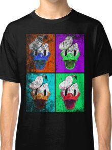 Donald Duck pop art distressed Classic T-Shirt