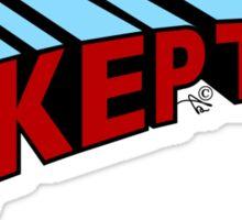 Super Skeptic! Sticker