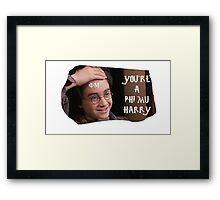 Harry Potter Phi Mu Framed Print