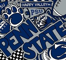 Penn State Collage by coreybloomberg