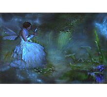 """She sat beside the Dream Pond and wrote to the Lavender Fairy ..."" Photographic Print"