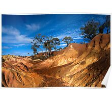 Pink Cliffs 1 - Heathcote Poster
