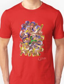Abstract digital art - Jamurina V2 Unisex T-Shirt