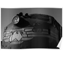 Bullnose locomotive Poster