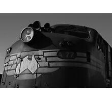 Bullnose locomotive Photographic Print