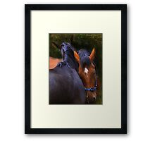"""Lovin' You ...Lovin' Me ..."" Framed Print"