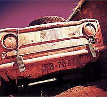 Simca 1000  by Michelle Clarke