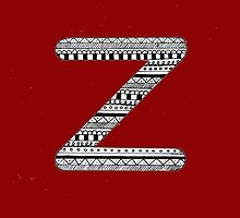'Z' Patterned Monogram by tadvani