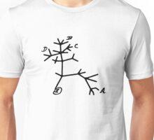 Darwin Tree by Tai's Tees Unisex T-Shirt