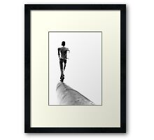 Into nowhere Framed Print