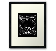 Legacy of Believing Framed Print