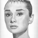 Audrey Hepburn by Karen Townsend