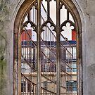 The Windowless Window - St Dunstan in the East - London by Bryan Freeman