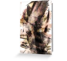 abstract tower Greeting Card