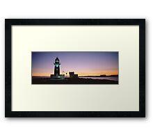 Sunset at South Mole Framed Print